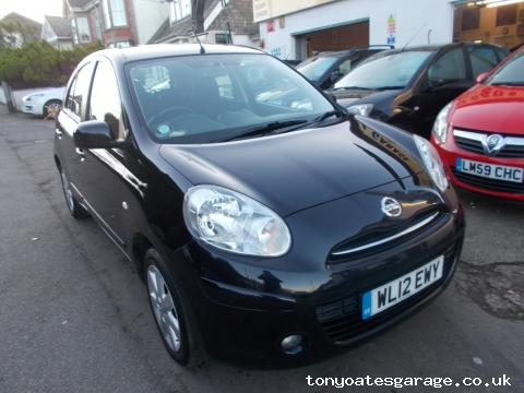 2012 (12) NISSAN MICRA 1.2 DIG-S full