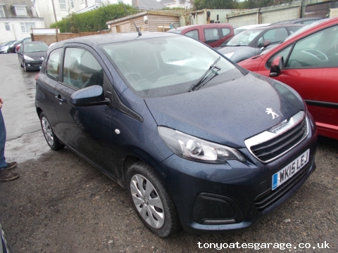 2015 (15) PEUGEOT 108 1.0 ACTIVE full