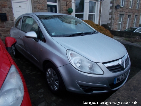 2007 (07) VAUXHALL CORSA 1.3 CDTI CLUB full