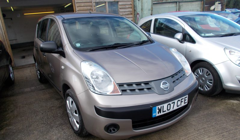 NISSAN NOTE 1.6 S full