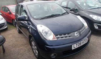 Nissan Note 1.4 16v Acenta full