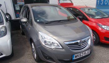 Vauxhall/Opel Meriva 1.4i 16v ( 120ps ) ( a/c ) 1398cc 2014MY SE full