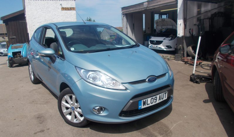 Ford Fiesta 1.4 2009MY Zetec full