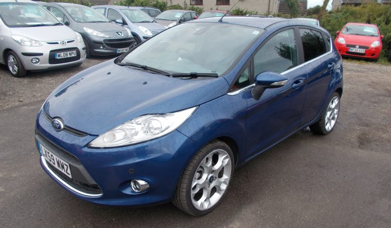 Ford Fiesta 1.6 2009MY Titanium full
