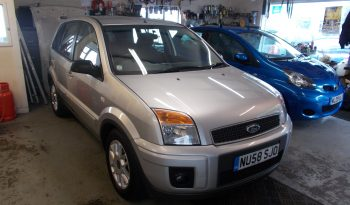Ford Fusion 1.6TDCi 2007.25MY Zetec Climate full