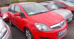 Vauxhall/Opel Zafira 1.7CDTi 16v ecoFLEX ( 110ps ) 2014MY Exclusiv