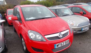 Vauxhall/Opel Zafira 1.7CDTi 16v ecoFLEX ( 110ps ) 2014MY Exclusiv full