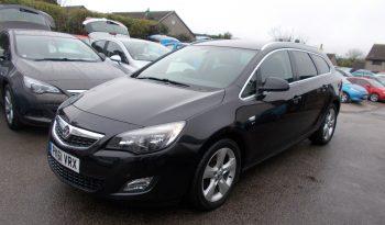 Vauxhall/Opel Astra 2.0CDTi 16v ( 165ps ) ( s/s ) 2012MY SRi,
