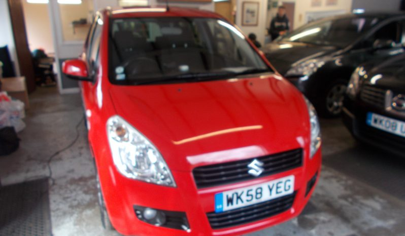 Suzuki Splash 1.2 GLS+, 5DR, H/B, RED, 59000 MILES ONLY, VERY CLEAN EXAMPLE full