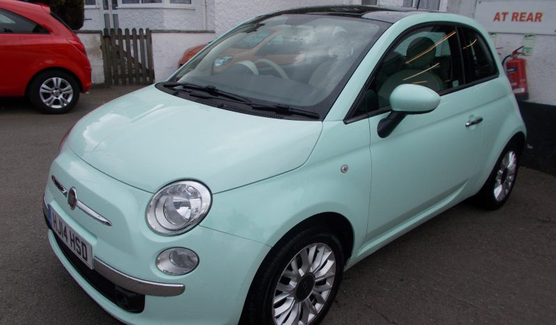 Fiat 500 1.2 ( 69bhp ) 2014MY LOUNGE full