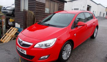 Vauxhall/Opel Astra 1.6i 16v VVT ( 115ps ) 2011.5MY Excite