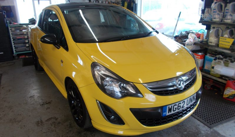 Vauxhall/Opel Corsa 1.2i 16v ( 85ps ) Limited Edition ( a/c ) full