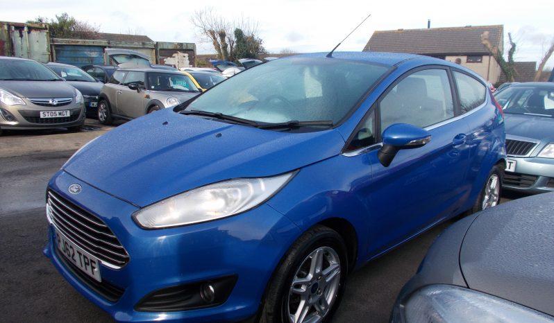 Ford Fiesta 1.5TDCi ( 75ps ) 2013.25MY Zetec full