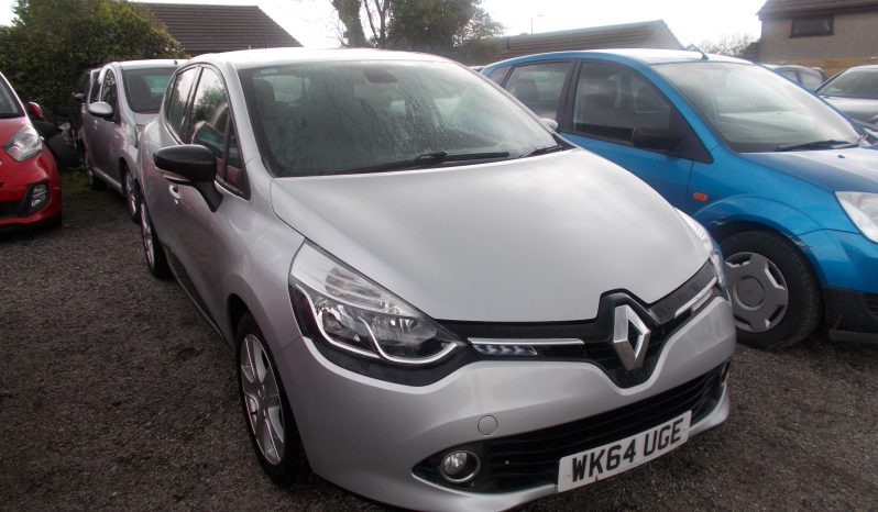 Renault Clio 0.9 TCe ( 90bhp ) MediaNav ( s/s ) 2013MY Dynamique, 5DR, H/B, SILVER MET, 37000 MILES ONLY, £20 ROAD TAX, VERY CLEAN EXAMPLE full