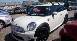 Mini Mini Clubman 1.6TD ( 112bhp ) ( Chili ) Cooper D, 5DR, H/B, WHITE, HALF LEATHER, TOP OF THE RANGE, VERY CLEAN EXAMPLE