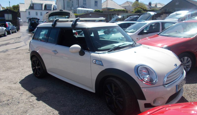 Mini Mini Clubman 1.6TD ( 112bhp ) ( Chili ) Cooper D, 5DR, H/B, WHITE, HALF LEATHER, TOP OF THE RANGE, VERY CLEAN EXAMPLE full
