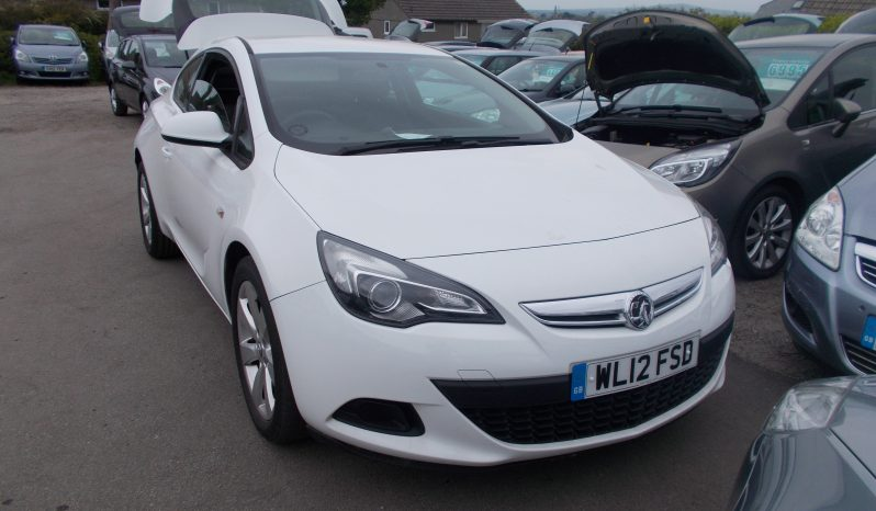 Vauxhall/Opel Astra GTC 1.4i 16v Turbo ( 140ps ) ( s/s ) 2012MY Sport, 3DR, H/B, WHITE, CORNISH, VERY CLEAN EXAMPLE full