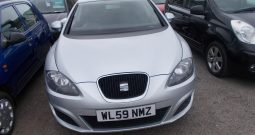 Seat Leon 1.4 2010MY S, 5DR, H/B, SILVER MET, LOW MILES, VERY CLEAN EXAMPLE