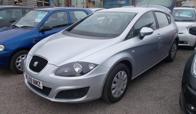 Seat Leon 1.4 2010MY S, 5DR, H/B, SILVER MET, LOW MILES, VERY CLEAN EXAMPLE full