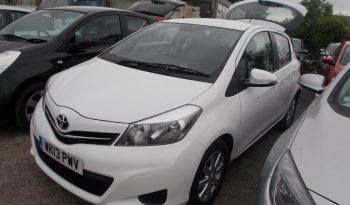 Toyota Yaris 1.33 VVT-i ( 99bhp ) 2012MY TR, 5DR, H/B, WHITE, CORNISH, LOW MILES, VERY CLEAN EXAMPLE full