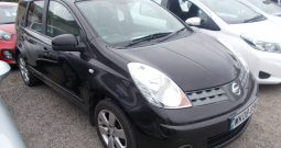 Nissan Note 1.6 16v auto Tekna, 5DR, H/B, BLACK MET, 47000 MILES ONLY, HALF LEATHER, VERY CLEAN EXAMPLE