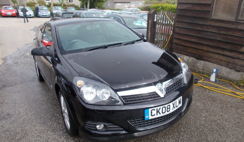 Vauxhall/Opel Astra 1.6 16v ( 115ps ) Sport Hatch 2008MY SXi, 3DR, H/B, BLACK MET, LOW MILES, VERY CLEAN EXAMPLE full