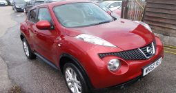 Nissan Juke 1.5dCi ( 110ps ) Acenta Premium, 5DR, H/B, RED MET, VERY CLEAN EXAMPLE
