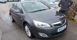 Vauxhall/Opel Astra 1.4 ( 140ps ) 2010MY SE, 5DR, H/B, GREY MET, LOW MILES, HALF LEATHER, VERY CLEAN EXAMPLE