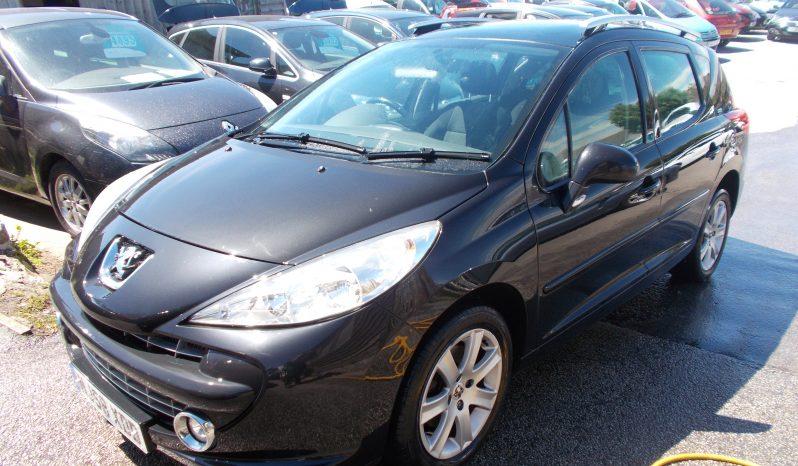 Peugeot 207 SW 1.6HDI 90 Sport, 5DR, H/B, BLACK MET, LOW MILES, £30 ROAD TAX, VERY CLEAN EXAMPLE full
