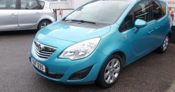 Vauxhall/Opel Meriva 1.7CDTi 16v ( 130ps ) ( a/c ) 2011MY SE, 5DR, H/B, BLUE MET, LOW MILES, HALF LEATHER, PANORAMIC ROOF, VERY CLEAN EXAMPLE