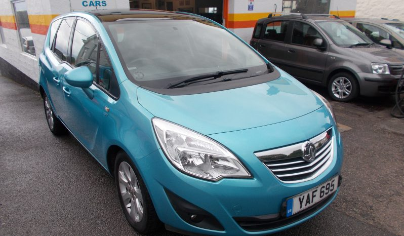 Vauxhall/Opel Meriva 1.7CDTi 16v ( 130ps ) ( a/c ) 2011MY SE, 5DR, H/B, BLUE MET, LOW MILES, HALF LEATHER, PANORAMIC ROOF, VERY CLEAN EXAMPLE full