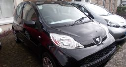 Peugeot 107 1.0 2-Tronic Urban, 3DR, H/B, BLACK MET, 29000 MILES ONLY, £20 ROAD TAX, VERY CLEAN EXAMPLE
