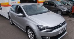 Volkswagen Polo 1.6TDI ( 75ps ) 2010MY SE, 5DR, H/B, SILVER MET, 62000 MILES ONLY, £30 ROAD TAX., VERY CLEAN EXAMPLE