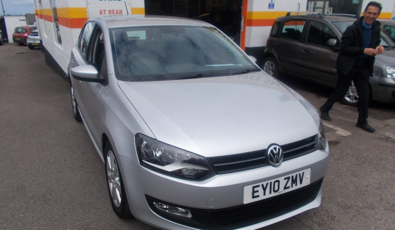 Volkswagen Polo 1.6TDI ( 75ps ) 2010MY SE, 5DR, H/B, SILVER MET, 62000 MILES ONLY, £30 ROAD TAX., VERY CLEAN EXAMPLE full