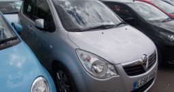 Vauxhall/Opel Agila 1.0i 12v ecoFLEX 2009MY Club, 5DR, H/B, SILVER MET, 47000 MILES ONLY, VERY CLEAN EXAMPLE