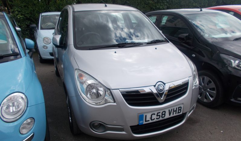 Vauxhall/Opel Agila 1.0i 12v ecoFLEX 2009MY Club, 5DR, H/B, SILVER MET, 47000 MILES ONLY, VERY CLEAN EXAMPLE full
