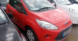 Ford Ka 1.2 2009MY Studio, 3DR, H/B, RED, 35000 MILES, £30 ROAD TAX, VERY CLEAN EXAMPLE