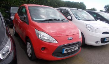 Ford Ka 1.2 2009MY Studio, 3DR, H/B, RED, 35000 MILES, £30 ROAD TAX, VERY CLEAN EXAMPLE full