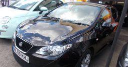 Seat Ibiza 1.6 TDI CR DPF 2010MY Sport, 5dr, H/B, BLACK MET, £30 ROAD TAX, VERY CLEAN EXAMPLE
