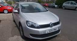Volkswagen Golf 1.4 ( 80P ) 2009MY S, 3DR, H/B, SILVER MET, 37000 MILES ONLY, VERY CLEAN EXAMPLE