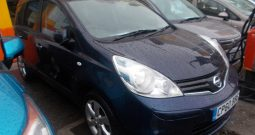 Nissan Note 1.5dCi ( 86ps ) E5 2011MY Tekna, 5DR, H/B, BLUE MET, LOW MILES, £30 ROAD TAX, HALF LEATHER, TOP OF THE RANGE, VERY CLEAN EXAMPLE