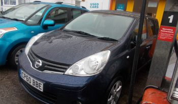 Nissan Note 1.5dCi ( 86ps ) E5 2011MY Tekna, 5DR, H/B, BLUE MET, LOW MILES, £30 ROAD TAX, HALF LEATHER, TOP OF THE RANGE, VERY CLEAN EXAMPLE full