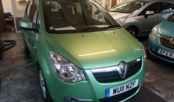 Vauxhall/Opel Agila 1.2 2011MY SE, 5DR, H/B, GREEN MET, 38000 MILES ONLY, £30 ROAD TAX, VERY CLEAN EXAMPLE full