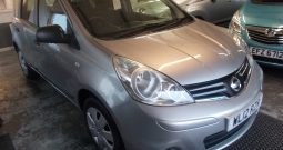 Nissan Note 1.5 DCI, 5DR, H/B, SILVER MET, 36000 MILES ONLY, £30 ROAD TAX, VERY CLEAN EXAMPLE