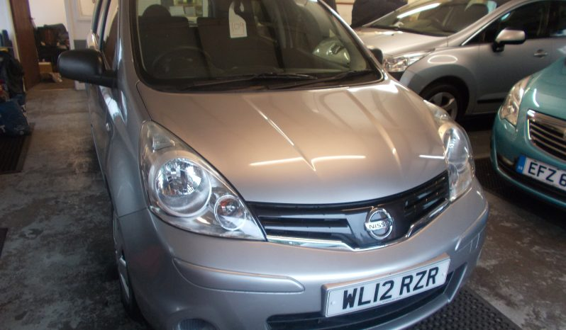 Nissan Note 1.5 DCI, 5DR, H/B, SILVER MET, 36000 MILES ONLY, £30 ROAD TAX, VERY CLEAN EXAMPLE full
