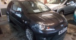 Ford Fiesta 1.6TDCi 2007.25MY Zetec S, 3DR, H/B, GREY MET, LOW MILES, FULL LEATHER, VERY CLEAN EXAMPLE, £30 ROAD TAX