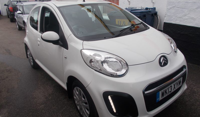 Citroen C1 1.0i 68 2012MY VTR, 5DR, H/B, WHITE, 27000 MILES ONLY, £0 ROAD TAX, VERY CLEAN EXAMPLE full