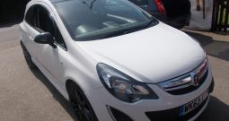 Vauxhall/Opel Corsa 1.2i 16v ( 85ps ) Limited Edition ( a/c ) 2014MY, 3DR, H/B, WHITE, VERY CLEAN EXAMPLE