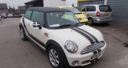 Mini Mini 1.6 ( 120bhp ) ( Chili ) Cooper, 3DR, H/B, WHITE, LOW MILES ONLY, HALF LEATHER, VERY CLEAN EXAMPLE