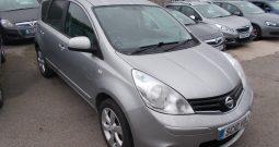 Nissan Note 1.4 16v 2011MY N-TEC, 5DR, H/B, SILVER MET, LOW MILES, VERY CLEAN EXAMPLE